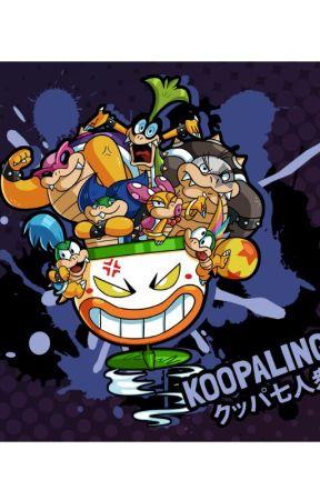 Koopalings How They Evolved Xd Koopalings Back Then See Image Above Wattpad