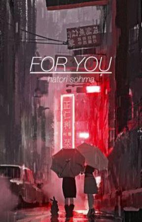 FOR YOU | Hatori Sohma by kodzukenz