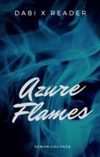 Dabi x Reader: Azure Flames by demonicxchaos