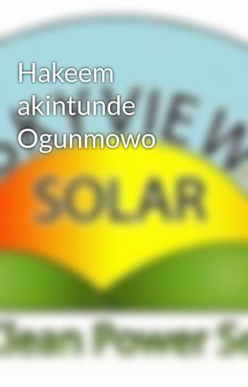 Hakeem akintunde Ogunmowo