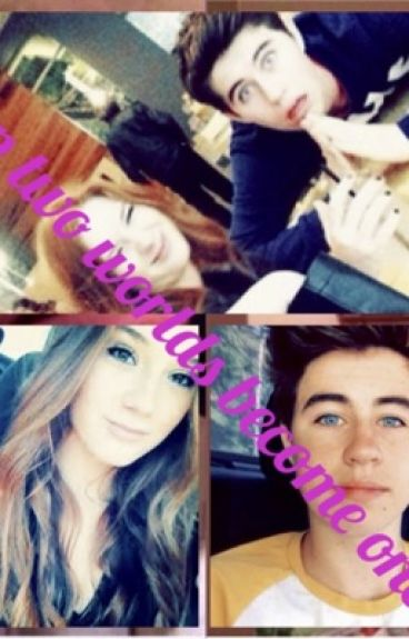 Two worlds become one (Morgan and Linday Demeola/Nash Grier and ... Morgan Demeola And Nash Grier