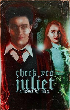CHECK YES JULIET ▷ JAMES POTTER  by phoebestonkin