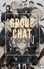 Group chat *Karasuno x Reader* by Jenna_12309
