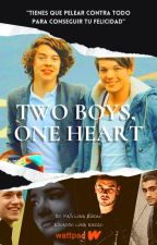 Two boys, One heart|Larry Stylinson by PatiLunaEnciso