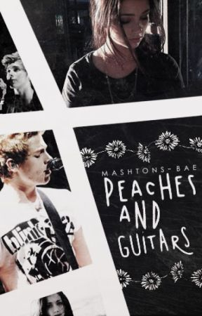 peaches and guitars { l.h } by Mashtons-Bae