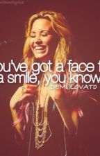 It's amazing what you can hide by putting on a smile (demi lovato fan fic) by Emilovato8