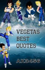 Vegeta's Best Quotes by AK3456