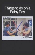 things to do on a rainy day ๑ larry by innerartsy