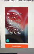 Sell CVV sell CC US,UK,CA,AU,EU,Inter.. contact  ICQ : 753532952 by sellcvvicq753532952