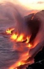 Fuoco ardente su acqua pura. by alcunesere_