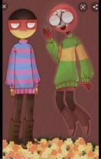 Undertale and CountryHumans Crossover! by Log_Book