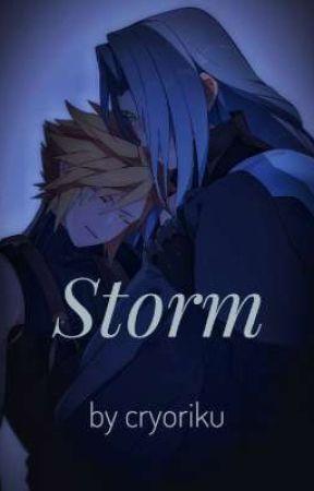 Storm // Cloud x Sephiroth Oneshot by cryoriku
