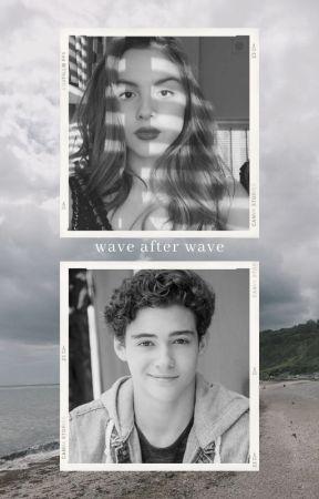 wave after wave 🌊  [rini au] by tealmagenta
