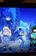 Sonic goes to the Hero Academia by JohnathonGillman