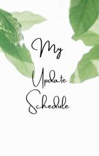 My update schedule! by GrayLock