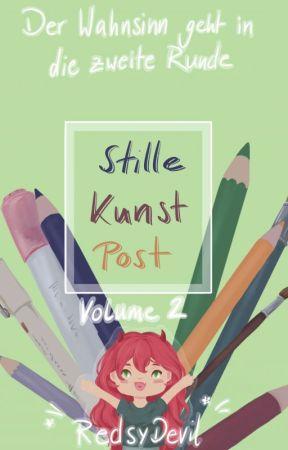 Stille Kunst Post - Volume 2 - der Wahnsinn geht in die zweite Runde by RedsyDevil