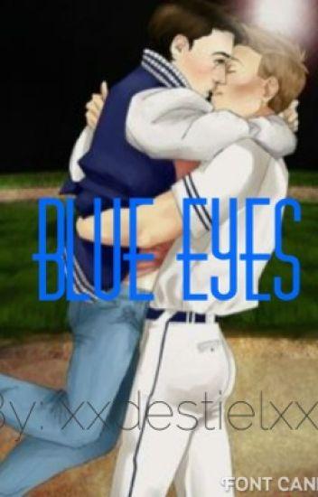Blue Eyes (Destiel high school AU)