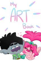 My Art Book by XBroppyX