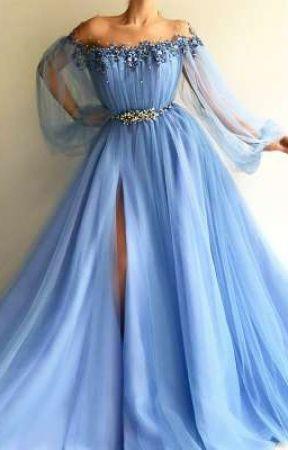 My Wattpad Prom dress by ValantinaHearts
