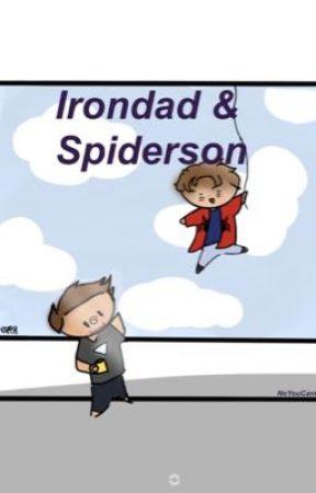 Irondad and Spiderson pics/headcanons by NoYouCantSitWithUs