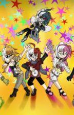 Monokubs and their mates stuff (Monokuma,Monomi,and Brial will be here too!) by Marrymekaede