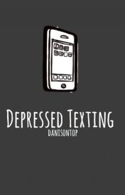 depressed texting » larry by danisnotontop