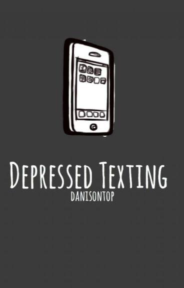 depressed texting » larry