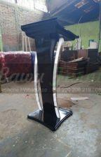 Tlp/WA : 085 290 206 219, Mimbar Masjid Minimalis Desain Furniture Modern by postingku1399