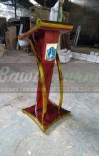 Tlp/WA : 085 290 206 219, Mimbar Masjid Minimalis Modern Furniture Stock Kode by postingku014