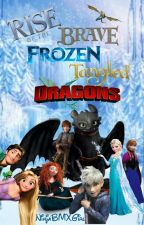 Rise of the Brave Frozen Tangled Dragons by NinjaBMXGirl