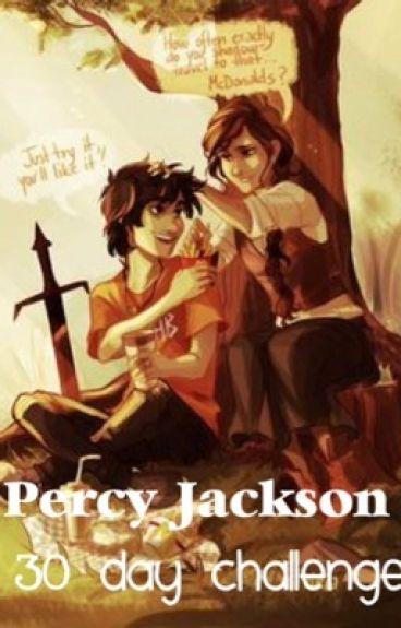 Percy Jackson 30 Day Challenge Hermespranker Wattpad