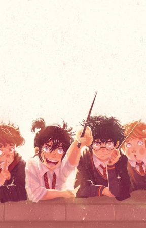 The Marauders Meet (1ST YEAR) (BOOK ONE) by NormalorPsycho