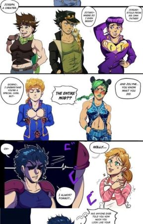 jojo omegaverse by hold_my_flowercrown