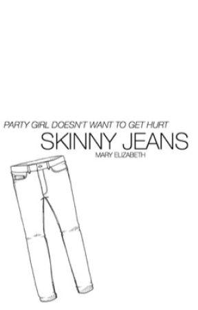 skinny jeans ➳ l.h. au by dimple-ashton