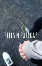 pills n potions (hayes grier & rowan blanchard fanfic) by andreaxgrier