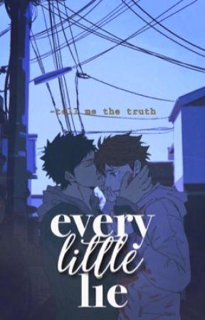 Every Little Lie | IwaOi by srenae_