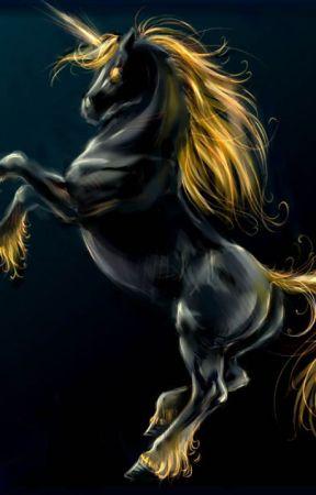 The Black Unicorn by Phantomheart8