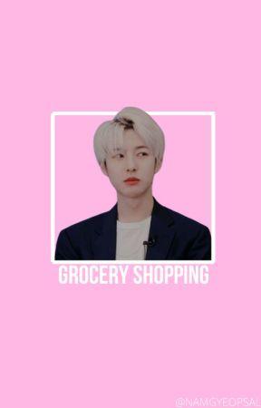 grocery shopping; huang renjun by NAMGYEOPSAL