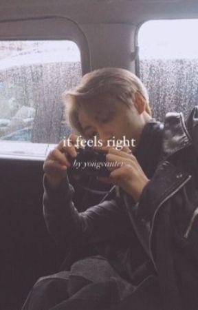 it feels right | seongjoong (on hold) by mirohbito