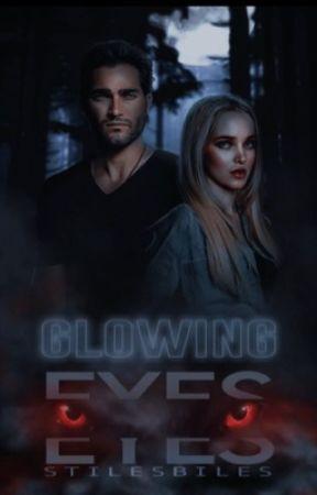 Glowing Eyes | Derek Hale by stilesbiles
