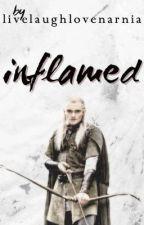 Inflamed (Harry Potter & The Hobbit/LOTR Crossover) (LegolasxOC) by livelaughlovenarnia