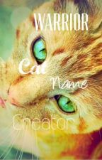Warrior Cat Name Creator by nzwriter