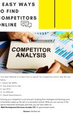 5 Easy Ways to Find Competitors Online by Wesleybates098