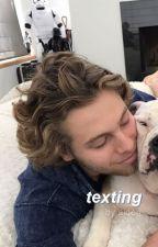 texting → lashton [#wattys2016] by lashtonnn