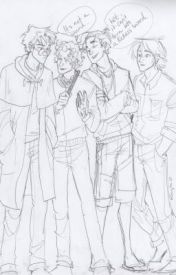 Demigods and Wizards (Harry Potter/ Percy Jackson) by XTheStorytellerX