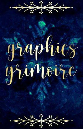 Graphics Grimoire: A GRAPHIC SHOP by sarah_amlan
