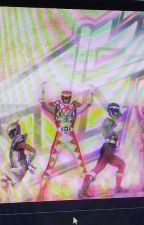 The descendant power rangers  by ArielCornell