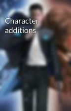 Character additions by Writerrider234