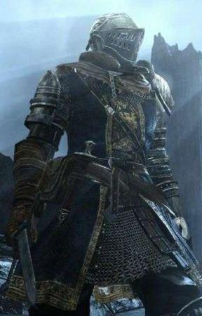 Knight of astora, slaying goblins! by Sloom_Dayer