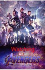 Avengers watch Endgame by Avengers_Widow_Hawk